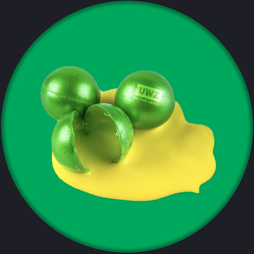 Picture of paintballs